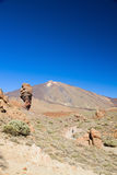 Volcano Teide, Tenerife, Spain royalty free stock photography