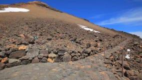 Volcano Teide Tenerife Spain video estoque