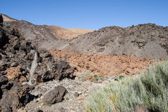Volcano (Teide - Tenerife) Royalty Free Stock Photos