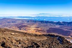 Volcano Teide, Teneriffa-Insel, Spanien stockbild