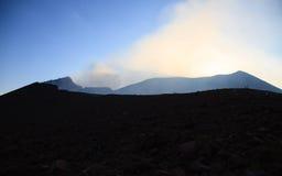 Volcano Telica Venting Stock Photos