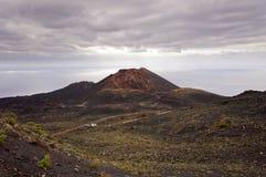 Volcano Teneguia in Fuencaliente - Los Canarios Volcanic Landsca Stock Photos