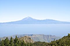 The Pico de Teide on Tenerife Royalty Free Stock Photo