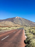 Volcano. Thr volcano Teide in the Canary Islands Royalty Free Stock Photo