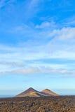 Volcano in timanfaya national park Stock Image