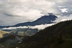 Volcano Tungurahua in Ecuador. Stock Image