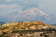 Volcano in Turkey Royalty Free Stock Images