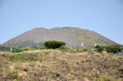 Volcano Vesuvius. Viewed from touristic trail stock photos