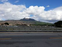 Volcano Vesuvius stock photography