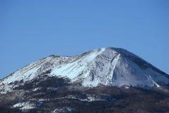 Volcano Vesuvius with snow Stock Images