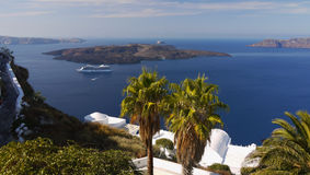 Santorini Island, Travel Greece, Cruise Greece Stock Images