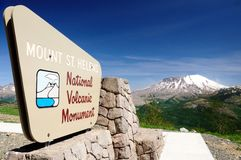 Volcano Viewpoint Stock Images
