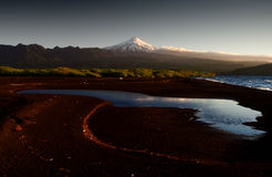 Volcano Villarica Royalty Free Stock Photo