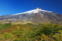 Volcano Villarrica Royalty Free Stock Photo