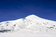Volcano Villarrica Stock Photo