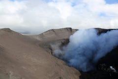 Volcano Yasur Eruption immagine stock libera da diritti