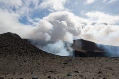 Volcano Yasur Eruption fotografia stock libera da diritti