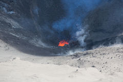 Volcano Yasur Eruption Royalty Free Stock Image