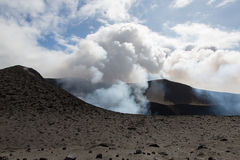 Volcano Yasur Eruption Royalty Free Stock Photo