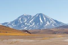 volcanoes Arkivbild