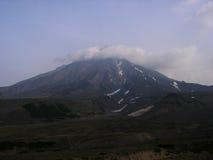 Volcanoes av Kamchatka Sommar som är august, Kamchatka halvö, Ryssland Royaltyfri Foto