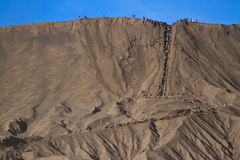 Volcanoes of Bromo , Java, Indonesia Royalty Free Stock Images