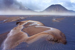 Volcanoes of Bromo National Park Royalty Free Stock Image