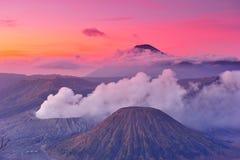 Volcanoes of Bromo National Park, Java Royalty Free Stock Photos