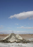 volcanoes för mudsaltonhav royaltyfria foton