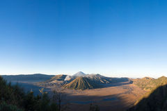 Volcanoes in Indonesia Royalty Free Stock Image