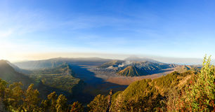 Volcanoes in Indonesia Royalty Free Stock Photos