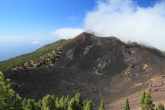Volcanoes on La Palma, Canary Islands Stock Images