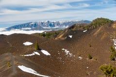 Volcanoes route La Palma canary islands, Spain Royalty Free Stock Photo