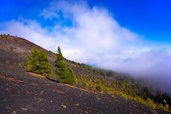 Volcanoes route in La Palma island, Spain Stock Photography