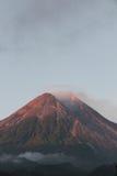 Volcanoes są w Indonezja Zdjęcie Royalty Free