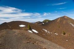 Volcanoes trasy losu angeles Palmy wyspy kanaryjska, Hiszpania Fotografia Royalty Free