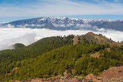 Volcanoes trasy losu angeles Palmy wyspy kanaryjska, Hiszpania Zdjęcie Royalty Free