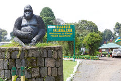 Volcanoesnationalparkhuvudkontor Royaltyfri Foto