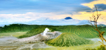 Volcanos Stock Photography