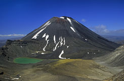 Volcanos New Zealand 02 Royalty Free Stock Images