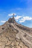 Volcans actifs de boue Photos libres de droits