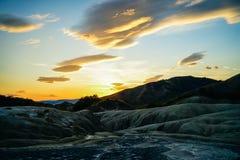 Volcans boueux Photos stock