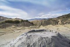 Volcans déprimés Photographie stock libre de droits