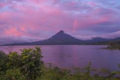 Volcans d'arc-en-ciel images libres de droits