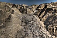 Volcans de boue photographie stock