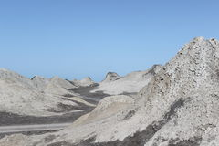 Volcans de boue de Qobustan Photographie stock