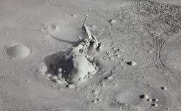 Volcans de boue et cônes de boue Photos libres de droits