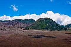 Volcans de parc national de Bromo Images stock