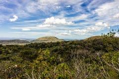 Volcans et montagnes de Costa Rica Image stock