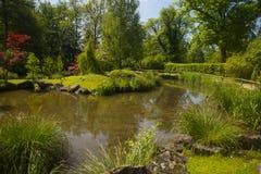 Volcji Potok, Slovenia. Botanical garden Volcji Potok near Kamnik, Slovenia Stock Images